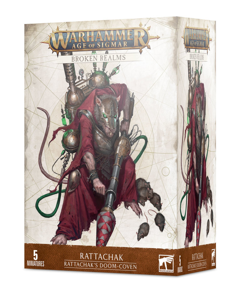 Games Workshop - GAW Warhammer: Age of Sigmar - Broken Realms - Rattachak - Rattachak's Doom-Coven