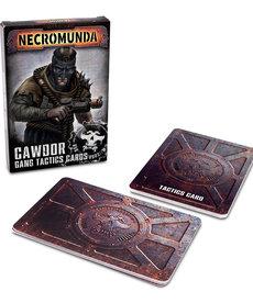 Games Workshop - GAW Cawdor Gang Tactic Cards NO REBATE