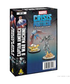 Atomic Mass Games - AMG Captain America & War Machine