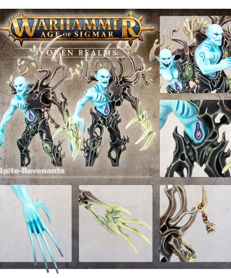 Games Workshop - GAW Warhammer: Age of Sigmar - Broken Realms - Drycha Hamadreth - Drycha's Spitegrove