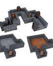 WizKids - WZK WizKids - WarLock Tiles - Dungeon Tiles Expansion - One Inch Dungeon Straight Walls