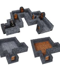 WizKids - WZK Dungeon - One Inch Straight Walls