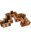WizKids - WZK WizKids - WarLock Tiles - Towns & Village Tile Expansion - One Inch Straight Walls
