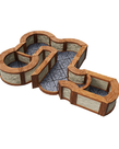 WizKids - WZK WizKids - WarLock Tiles - Towns & Village Tile Expansion - One Inch Angles & Curves