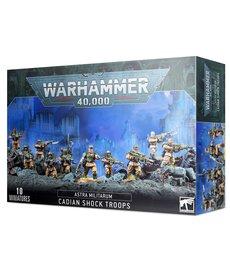 Games Workshop - GAW Astra Militarum - Cadian Shock Troops