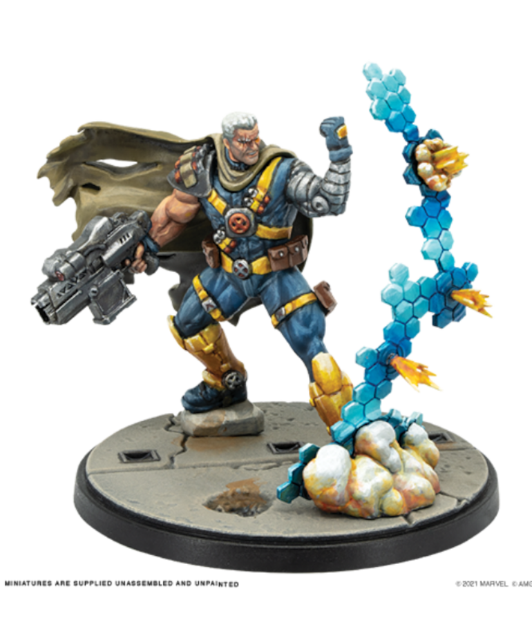 Atomic Mass Games - AMG Marvel: Crisis Protocol - Cable & Domino - Character Pack