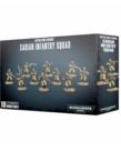 Games Workshop - GAW Warhammer 40K - Astra Militarum - Cadian Infantry Squad