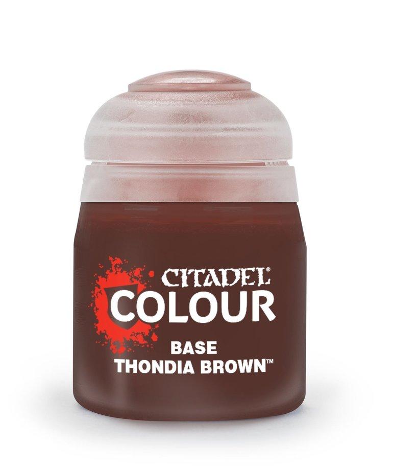 Citadel - GAW Citadel Colour: Base - Thondia Brown NO REBATE