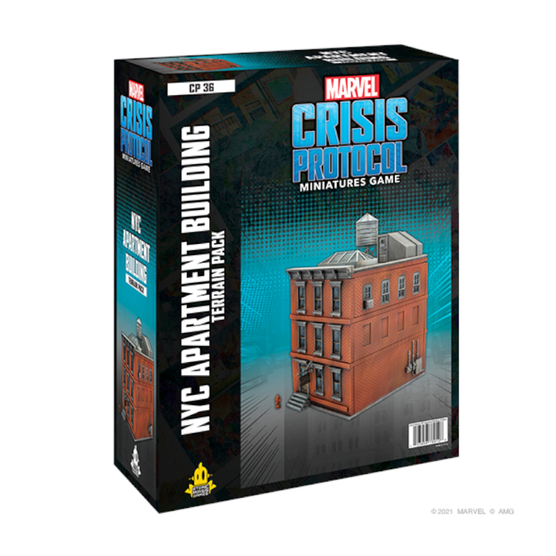 NYC Apartment Building for Marvel: Crisis Protocol