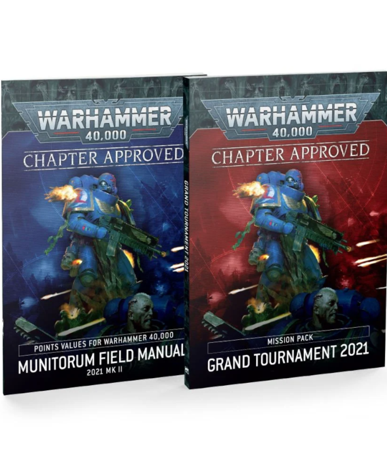 Games Workshop - GAW Warhammer 40K - Chapter Approved - Grand Tournament 2021 - Mission Pack & Munitorum Field Manual