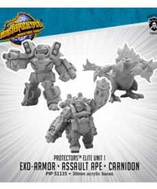 Privateer Press - PIP Protectors - Carnidon, Exo-Armor, & Assault Ape