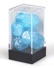 Chessex - CHX Chessex - Polyhedral 7-Die Set - Luminary - Sky w/ Silver