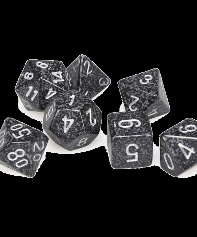 Chessex - CHX Chessex - Polyhedral 7-Die Set - Speckled Ninja