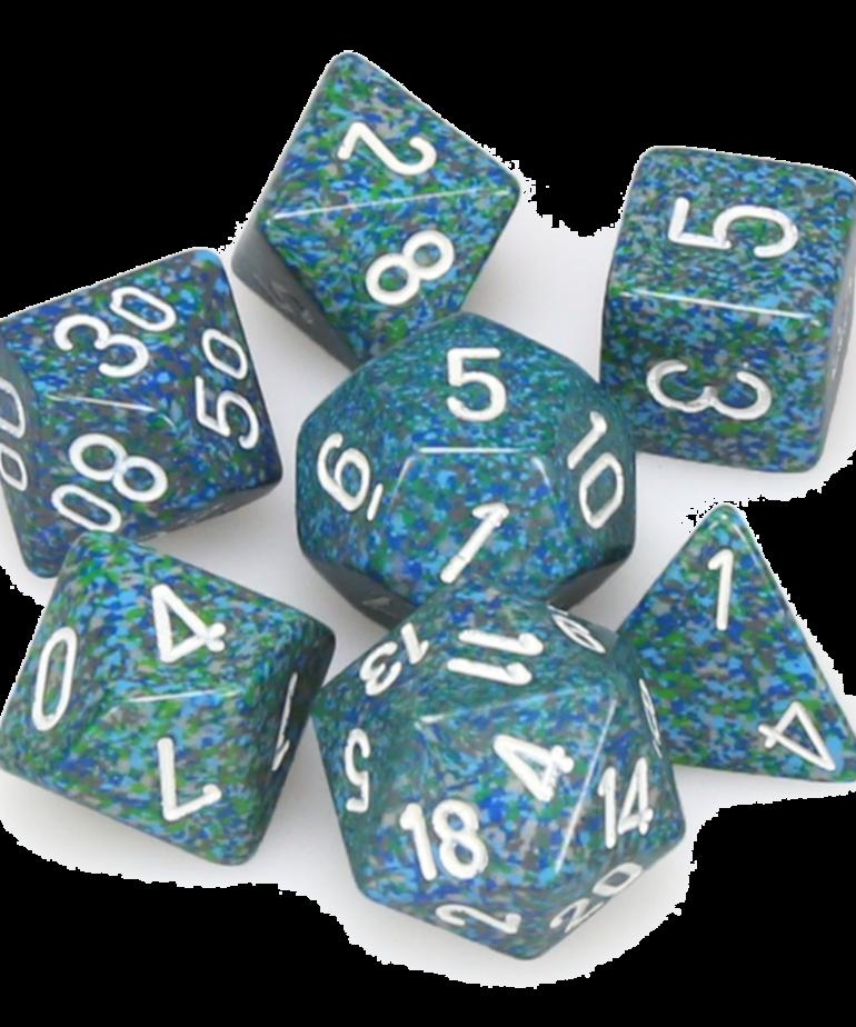Chessex - CHX Chessex - Polyhedral 7-Die Set - Speckled Sea