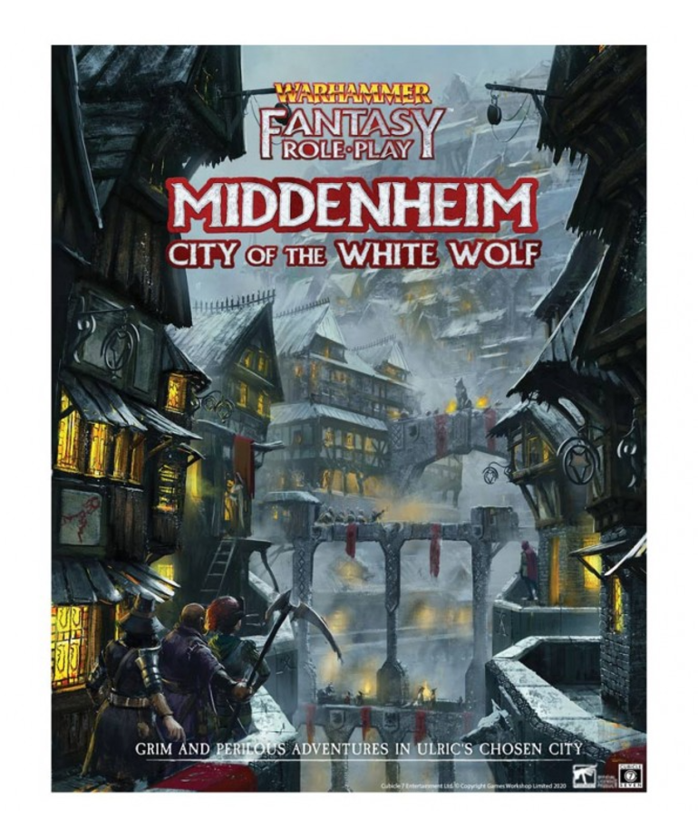 Cubicle 7 - CB7 Warhammer Fantasy Roleplay 4E - Middenheim City of the White Wolf