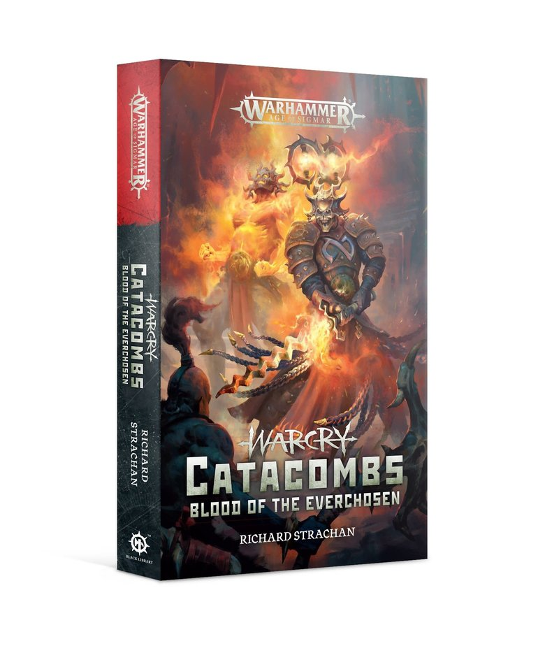 Games Workshop - GAW Black Library - Warcry - Catacombs, Blood of the Everchosen NO REBATE