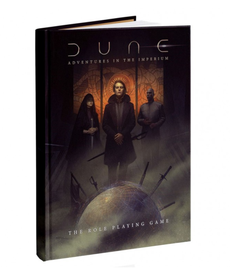 Modiphius Entertainment - MUH Dune Roleplaying Game - Core Rulebook