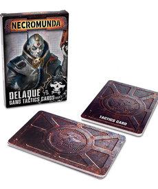 Games Workshop - GAW Delaque Gang Tactics Cards NO REBATE