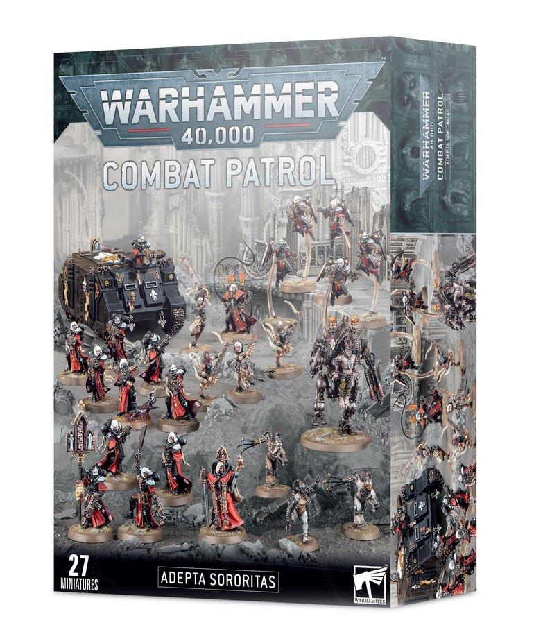Games Workshop - GAW Warhammer 40K - Combat Patrol: Adepta Sororitas