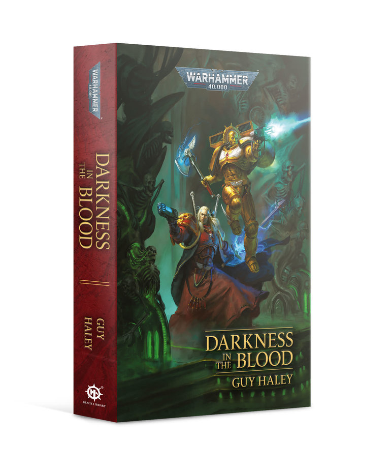 Games Workshop - GAW PRESALE Black Library - Warhammer 40K - Darkness in the Blood 08/14/2021 NO REBATE