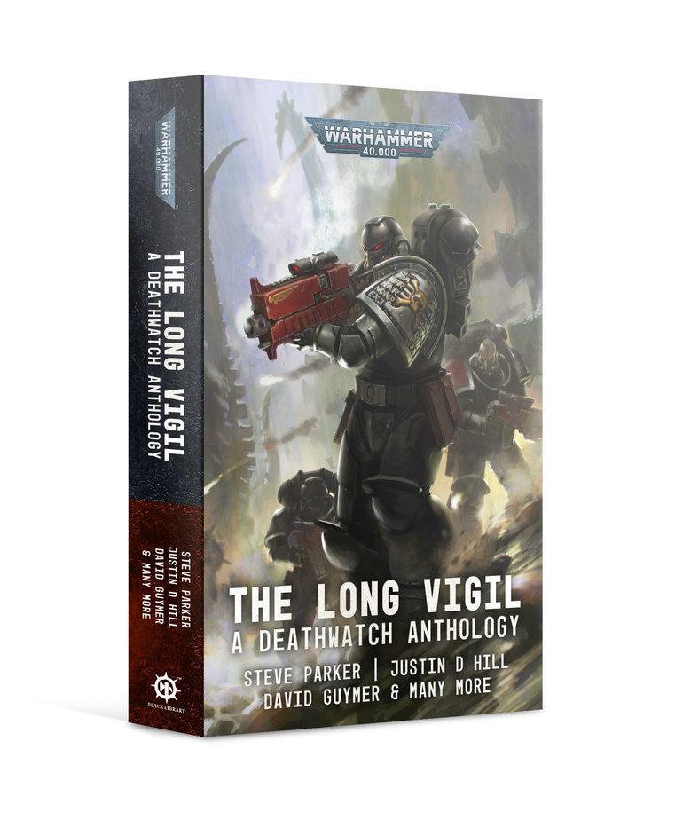 Games Workshop - GAW Black Library - Warhammer 40K - The Long Vigil, a Deathwatch Anthology NO REBATE