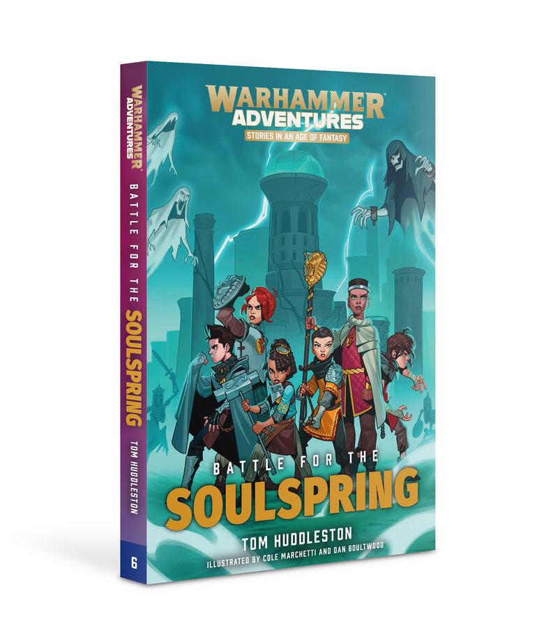 Games Workshop - GAW Black Library - Warhammer Adventures - Battle for the Soulspring NO REBATE