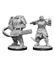 WizKids - WZK Starfinder Battles: Wave 1 - Vesk Soldier