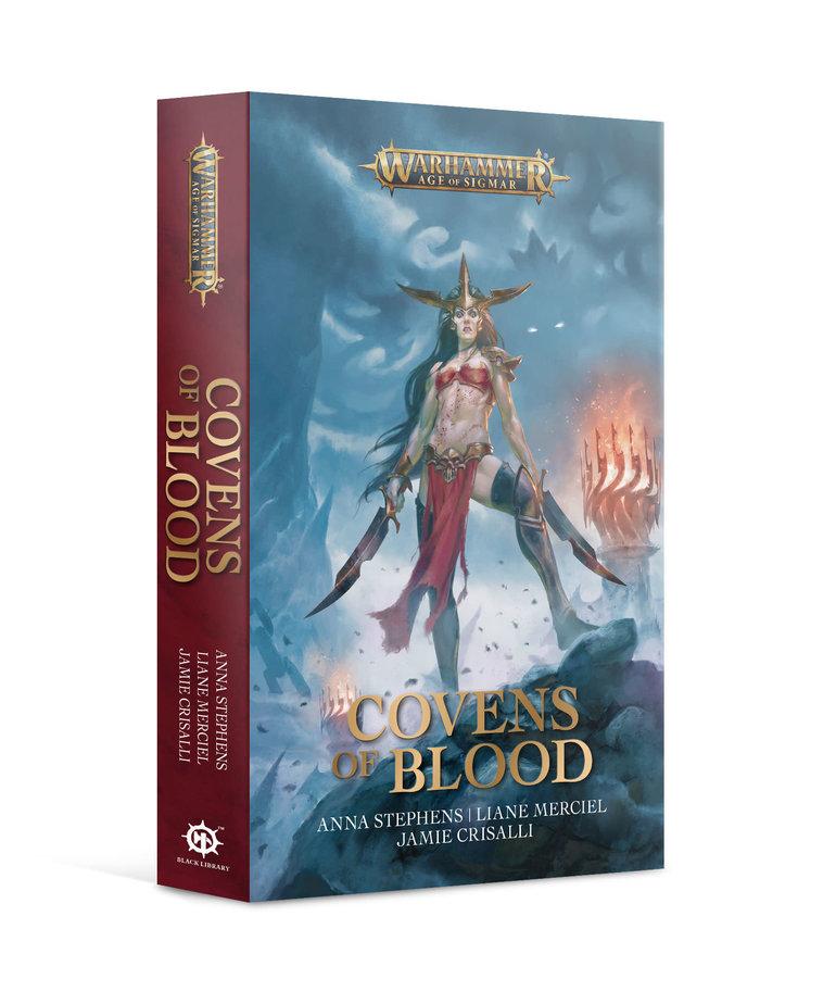 Games Workshop - GAW Black Library - Warhammer: Age of Sigmar - Covens of Blood NO REBATE