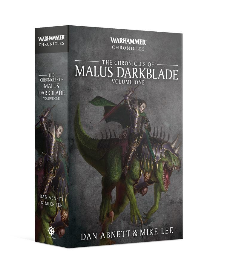 Games Workshop - GAW Black Library - Warhammer Chronicles - The Chronicles of Malus Darkblade, Volume 1 NO REBATE