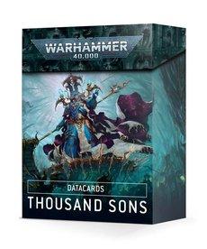 Games Workshop - GAW Datacards Thousand Sons NO REBATE