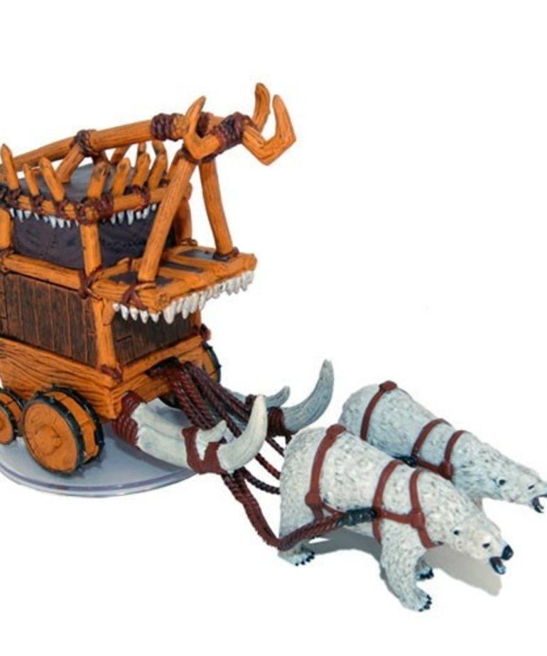 WizKids - WZK D&D: Icons of the Realms - Snowbound - Goblin Battle Wagon (R) #46