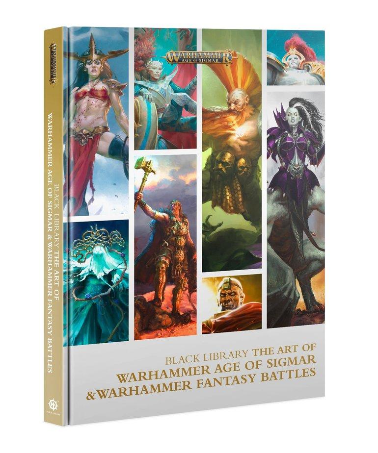 Games Workshop - GAW Black Library - The Art of Warhammer Age of Sigmar & Warhammer Fantasy Battles NO REBATE