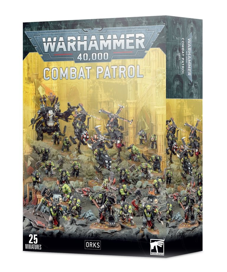 Games Workshop - GAW Warhammer 40K - Combat Patrol: Orks