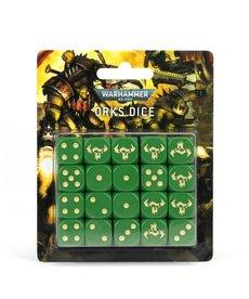 Games Workshop - GAW Dice Set - Orks