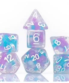Sirius Dice - SDZ Polyhedral 7-Die Set - Candy Glowworm