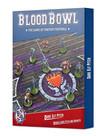 Games Workshop - GAW Blood Bowl - Dark Elf - Pitch & Dugouts NO REBATE