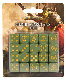 Games Workshop - GAW Orruk Warclans Dice NO REBATE