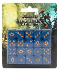 Games Workshop - GAW Grand Alliance Order Dice NO REBATE