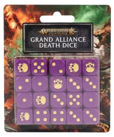 Games Workshop - GAW Grand Alliance Death Dice Set NO REBATE