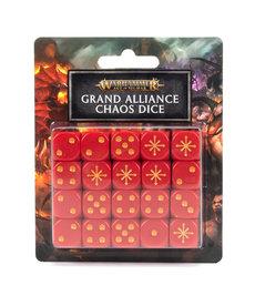 Games Workshop - GAW Grand Alliance Chaos Dice Set NO REBATE