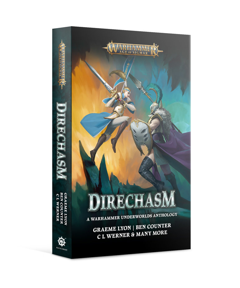 Games Workshop - GAW Black Library - Warhammer: Age of Sigmar - Direchasm NO REBATE