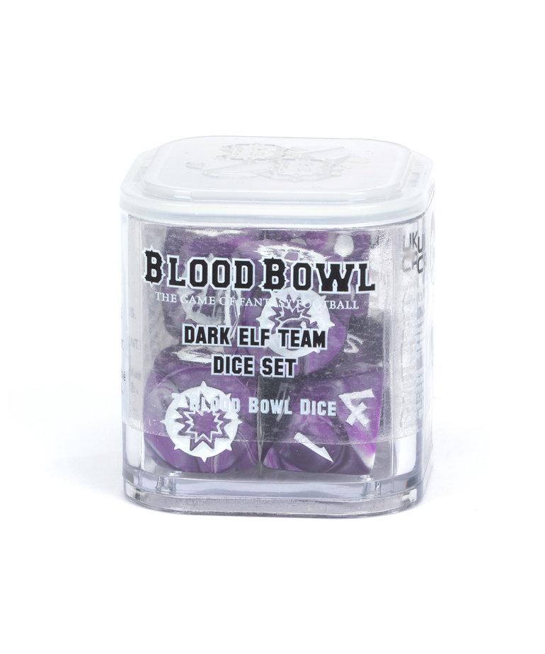 Games Workshop - GAW Blood Bowl - Dark Elf Team Dice Set NO REBATE
