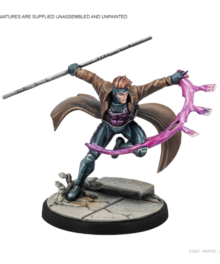 Atomic Mass Games - AMG PRESALE Marvel: Crisis Protocol - Gambit & Rogue - Character Pack 02/00/2022