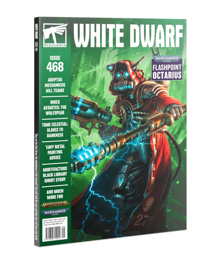 Games Workshop - GAW PRESALE Warhammer - White Dwarf Magazine - Issue 468: September 2021 09/00/2021