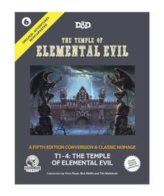 Goodman Games - GMG The Temple of Elemental Evil
