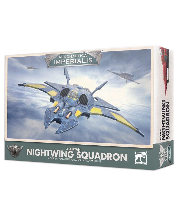 Games Workshop - GAW Aeronautica Imperialis - Asuryani Nightwing Squadron NO REBATE