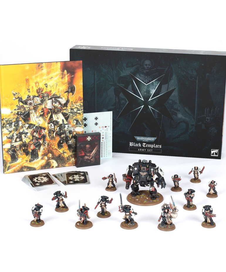 Games Workshop - GAW Warhammer 40K - Black Templars Army Set