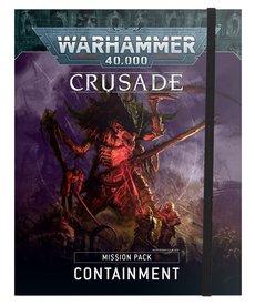 Games Workshop - GAW Crusade Mission Pack - Containment PRESALE 10/23/2021 NO REBATE