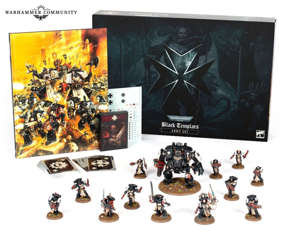 Black Templars Army Set ready to ship!