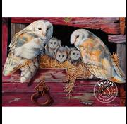 Cobble Hill Puzzles Cobble Hill Barn Owls Puzzle 1000pcs